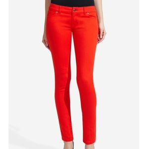The Limited 678 Red Skinny Jeans